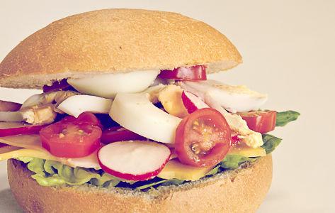 Broodje Kees gezond